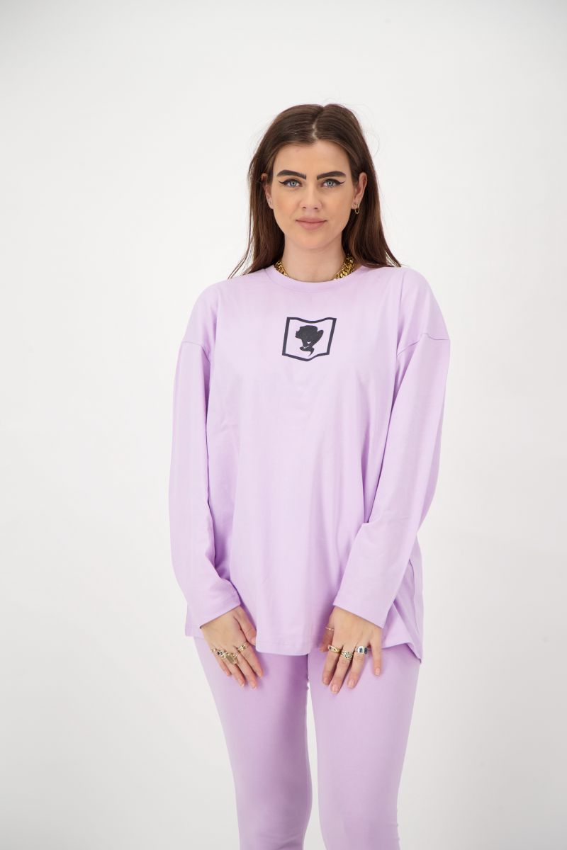 HEADLOGO SQUARE T-SHIRT LONG SLEEVE