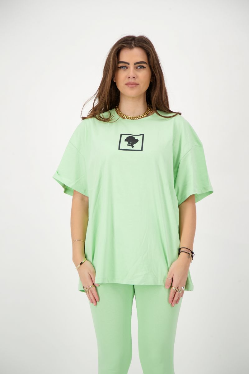 HEADLOGO SQUARE T-SHIRT SHORT SLEEVE