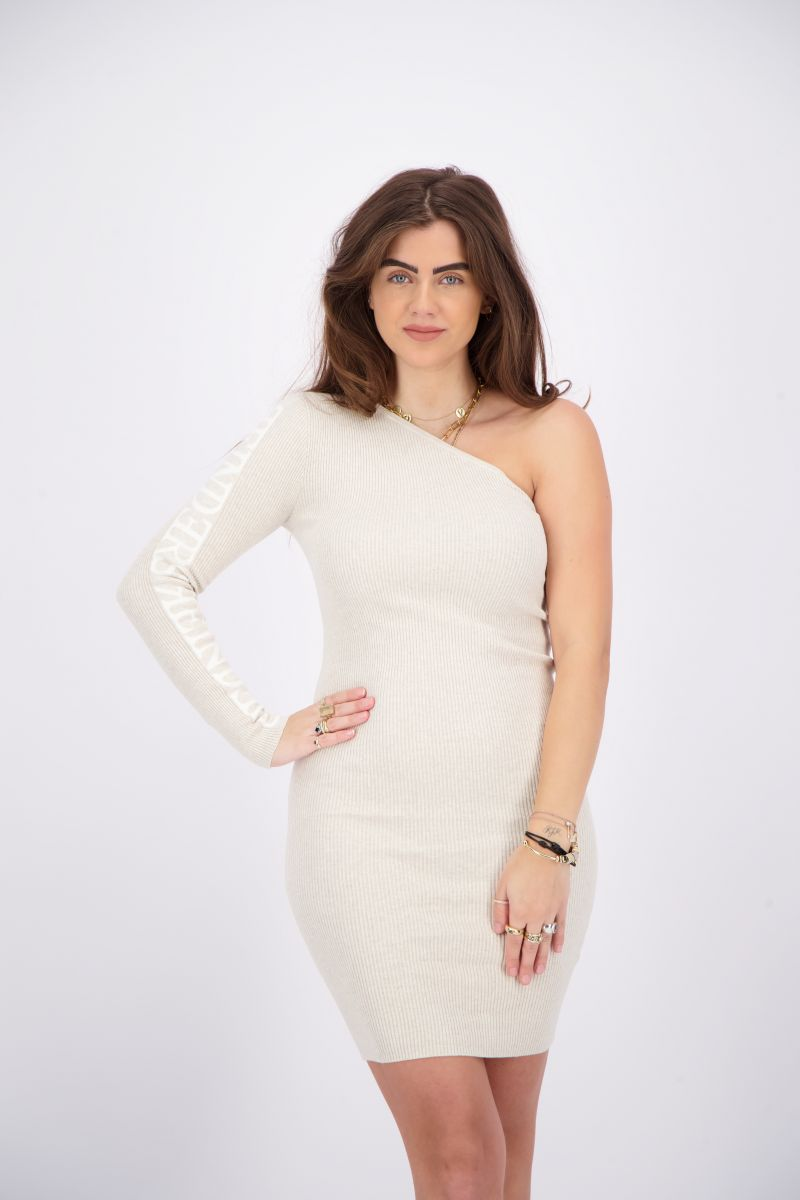 LAILA ONE SHOULDER DRESS