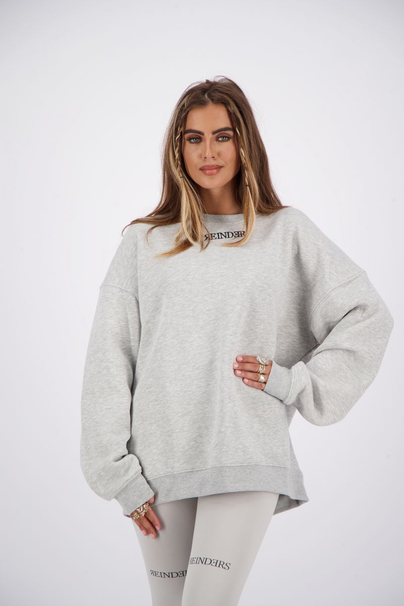 SWEATER REINDERS WORDING ONE SIZE