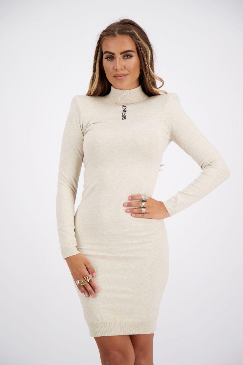 LIVIA DRESS SHOULDER PADS KNITWEAR