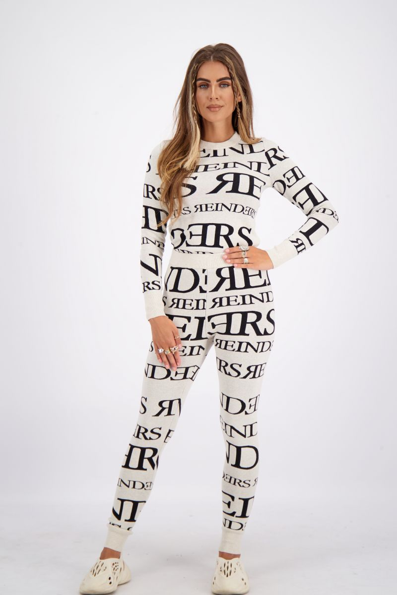 REINDERS PANTS ALL OVER PRINT NEW