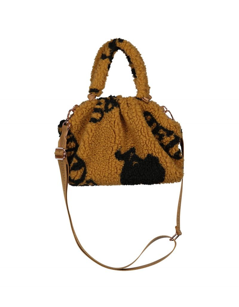 POUCH BAG TEDDY WITH ALL OVER PRINT