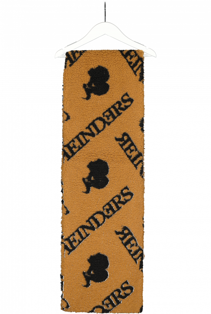 SCARF TEDDY WITH ALL OVER PRINT